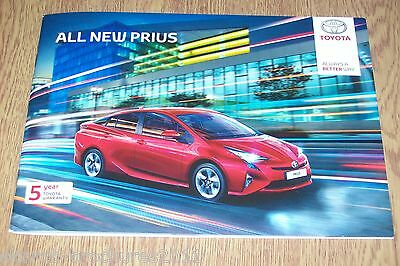 TOYOTA - The All New Prius Sales Brochure 5/2016