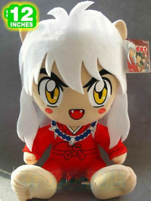 Inuyasha sitting Inuyasha rare doll plush toy new 12""