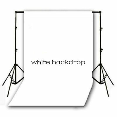 10X10FT White Backdrop Vinyl Stage Photography Background Photo Studio Prop