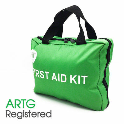 210 Pieces First Aid Kit-A Must Have for Every Family ARTG Registered GREEN