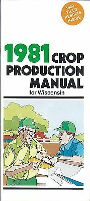 Farm Seed Brochure - Pioneer - Crop Production Wisconsin - 1981 (F5022)