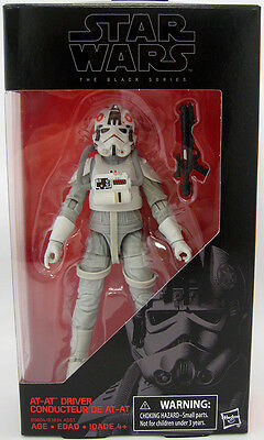 Star Wars Black Series 6 Inch AT AT Driver Action Figure #31 NEW