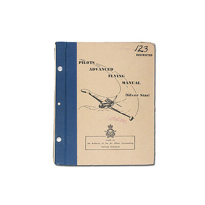 Pilots Advanced Flying Manual: Silver Star. 1958