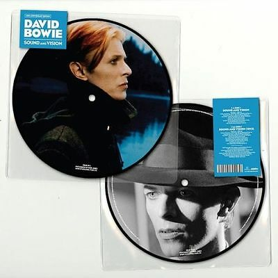 "David Bowie - Sound and Vision - NEW - 7"" Picture Disc Vinyl Released 10th Feb"