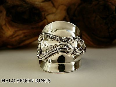 Stunning Chunky Ornate Ladies Sterling Silver Spoon Ring  ** The Perfect Gift **