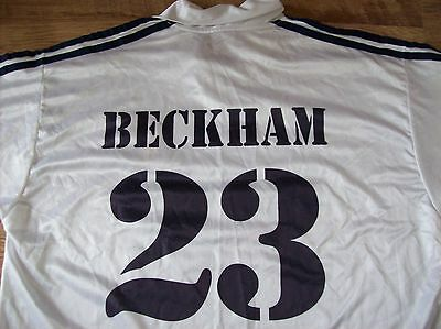 Real Madrid Home Shirt Beckham 23 (X Large) Adidas