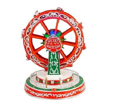 Home Accents Holiday 12.63 in. Animated Ferris Wheel nib