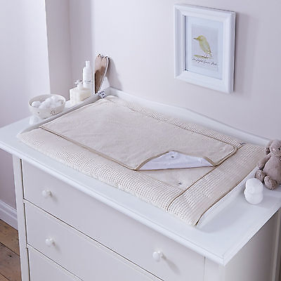New 4Baby Cream Waffle Luxury Baby Changing Mat Removable Towling Cover