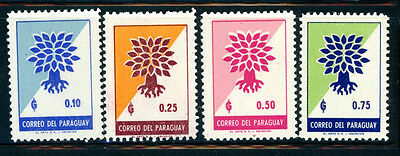 Paraguay Scott # 619 - 622  MH  -- Great Stamps