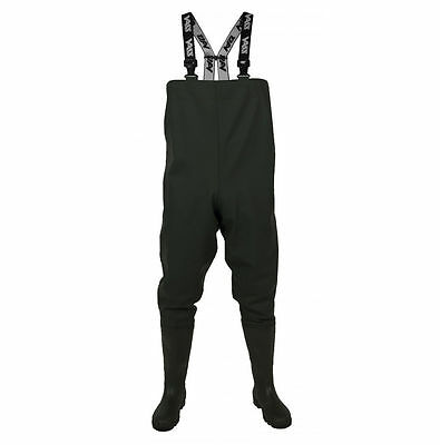 Vass-Tex 600 Series PVC Chest Waders - Carp / Sea / Beach / River Fishing Wader