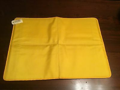 Sunwill Limited Cool Mat In Bright Yellow Large 2001 Tags Attached Use Unknown