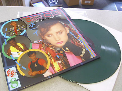Culture Club - Colour By Numbers - LIMITED LP 180g GREEN Vinyl // Neu