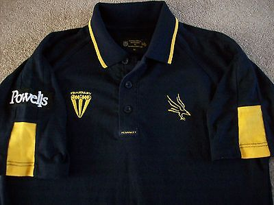 Hampshire Hawks Cricket Training Polo Shirt (L/b Or Small Adult) Fearnley