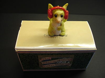 Pocket Dragons Fuzzy Ears 1993 Dragon in Box MIB Real Musgrave