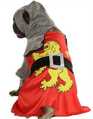 Medieval Midevil Sir-Barks-A Lot Knight Pup Dog Pet Costumes