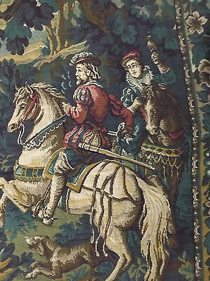 "A SUPERB huge Antique French Wall Hanging Tapestry 82""By 84"""