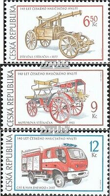 czech republic 371-373 (complete.issue.) unmounted mint / never hinged 2003 Fire