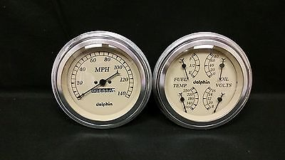 """1947 1948 1949 1950 1951 1952 1953 Chevy Truck Cluster Tan 5"""""""