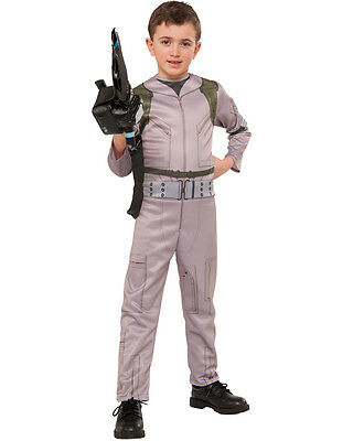 Childs Boy's Ghostbusters Ghost Buster Jumpsuit Costume Large 12-14