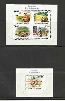 Comoros Protect Forests 2010 Mnh