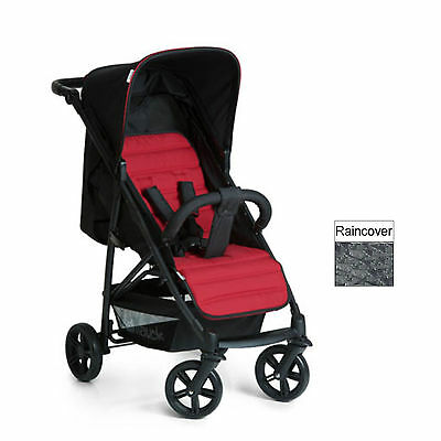 New Hauck Caviar / Tango Rapid 4 Pushchair Stroller Baby Buggy With Raincover