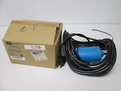 New Dayton 3BY83 Float Switch, Power: 115V 13A, Cord Length: 30 Feet