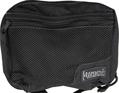 "Maxpedition MX329B Individual First Aid Pouch Black  8"" x  5"" x 2.5"" Lightweight"