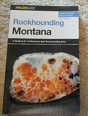 """Rockhounding Montana""- Book - New"