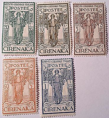 Cyrenaica     Unused Stamps  Scu444Rs...worldwide Stamps