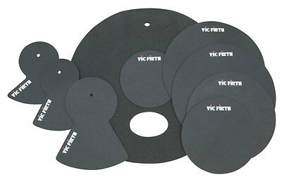 Vic Firth Batterie Kit Silencieux Ensemble 10,12,14,14,20, 20-Fusion (NEUF)