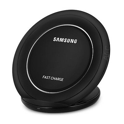 OEM Samsung EP-NG930 Fast Charge Qi Wireless Charging Stand Pad Black Sapphire