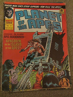 Marvel Comic Planet Of The Apes No 31 May 24Th 1975