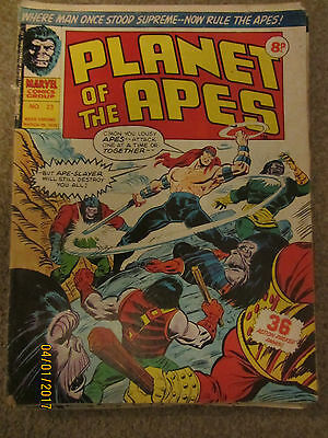Marvel Comic Planet Of The Apes No 23 March 29Th 1975
