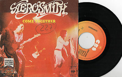 """AEROSMITH - Come Insieme / Kings And Queens, SG 7"""" SPAGNA 1978"""