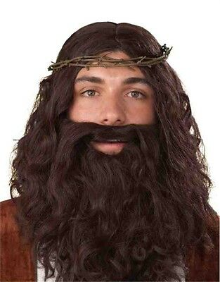 Mens Biblical Jesus Costume Accessory Crown Of Thorns