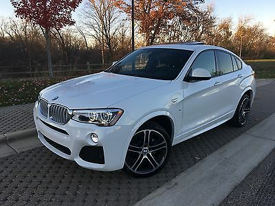"2016 BMW Other X4 M-sport package 2016 BMW X4 xDrive35i *M package*8,100 miles*Cold weather package*20""sport wheel"
