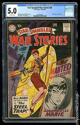 Star Spangled War Stories (1952 #3 to 204) #88 CGC 5.0 (1445760020)