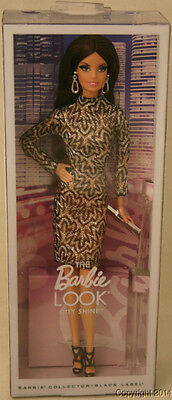 2015 Look City Shine Silver Lace Barbie Beautiful! NEW!