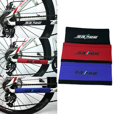 Sahoo Bike Bicycle Frame Chain Stay Rear Fork Care Protector Guard Cover Pad New