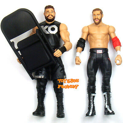 Sami Zayn & Kevin Owens w/ Chair WWE NXT Wrestling Action Figures Kid Toys Pack