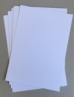 20 X Sheets SUPER WHITE 300gsm Smooth A4 cardstock Card acid free PREMIUM CARD