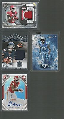 NFL Hot LOTS 200 +  FB CARDS  TO INC STARS, ROOKIES ,INSERTS,GU'S +MUCH MORE