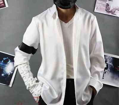 Michael Jackson Black Or White Shirt MJ Armband