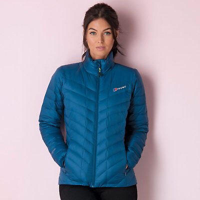 Womens Berghaus Scafell 2 Down Jacket In Blue From Get The Label