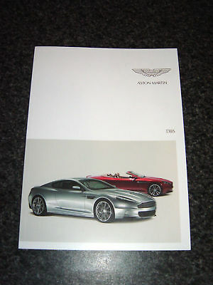Aston Martin DBS 2012 Sales Brochure - 62 pages - English - inc Carbon Edition