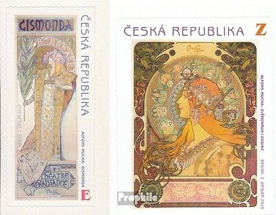 czech republic 633-634 (complete.issue.) unmounted mint / never hinged 2010 Much