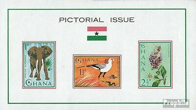 Ghana block14 (complete.issue.) unmounted mint / never hinged 1964 Flora and Flo