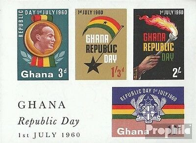 Ghana block2 (complete.issue.) unmounted mint / never hinged 1960 Celebrations