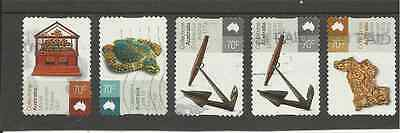 2015 Australia Collections Fine Used Set Of Self Adhesive Stamps