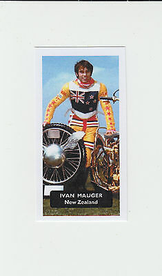 Speedway : Ivan Mauger : thin paper issue UK sports card